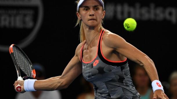 Леся Цуренко с треском вылетела с Australian Open