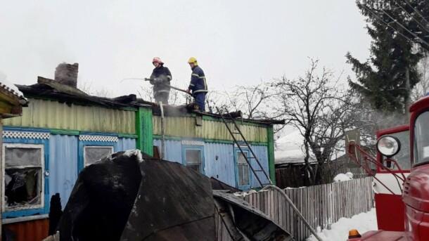 Жуткий пожар в Черниговской области: спасатели обнаружили тело мужчины