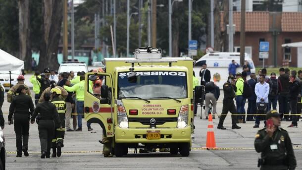 Жертвами мощного взрыва в Колумбии стали 10 человек, много ранененых