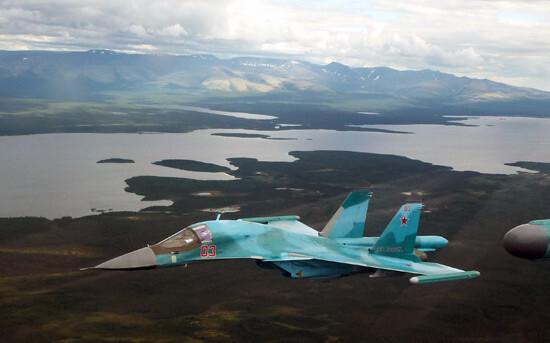 В России столкнулись два истребителя-бомбардировщика – СМИ