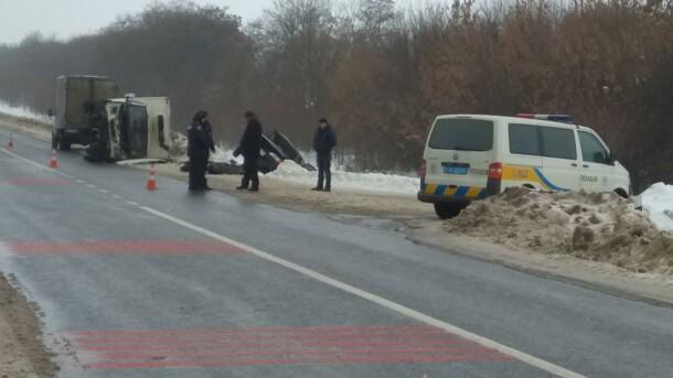 Смертельное ДТП в Харьковской области: погибли два человека, еще один ранен