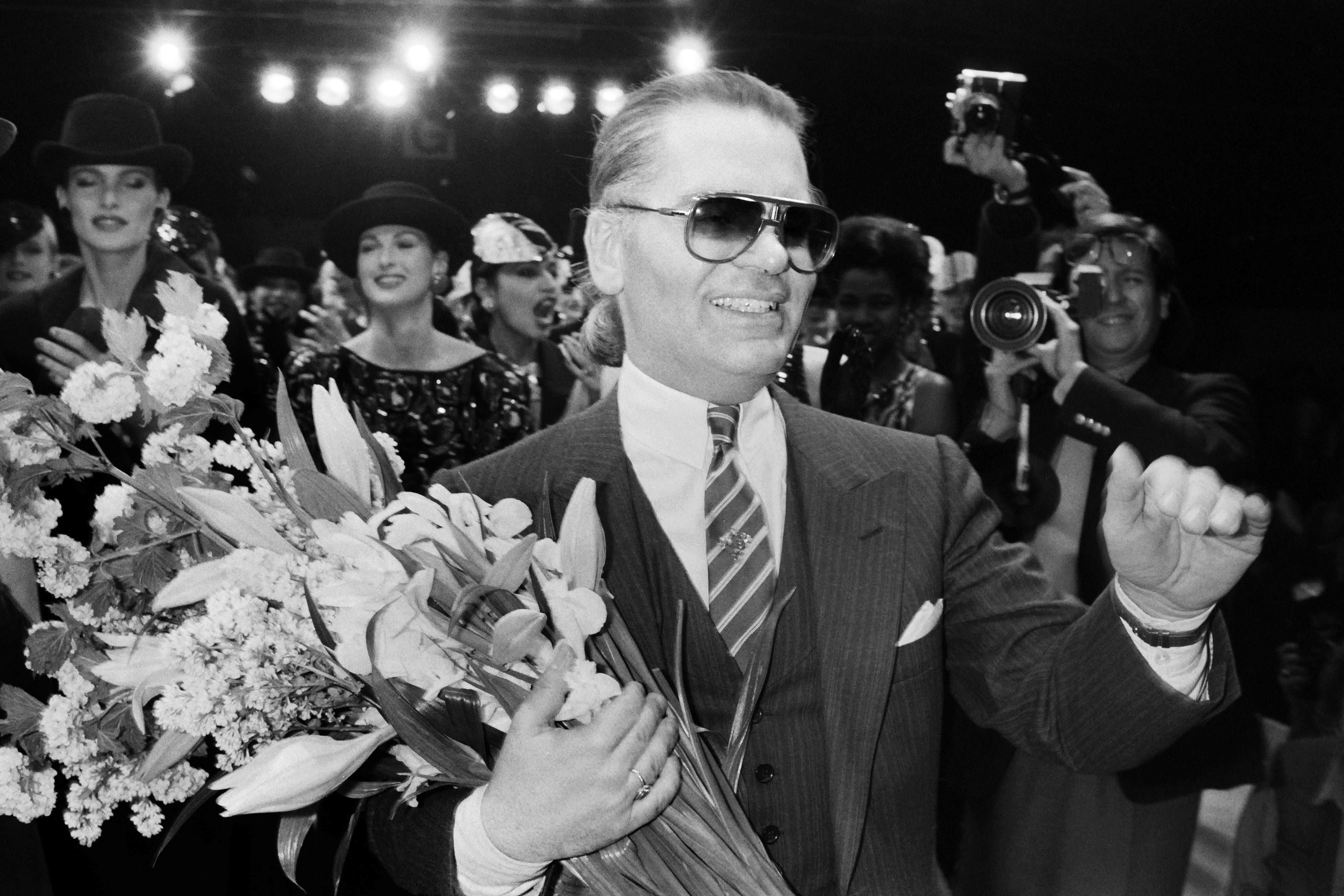 Карл Лагерфельд, Германия, 1984 год