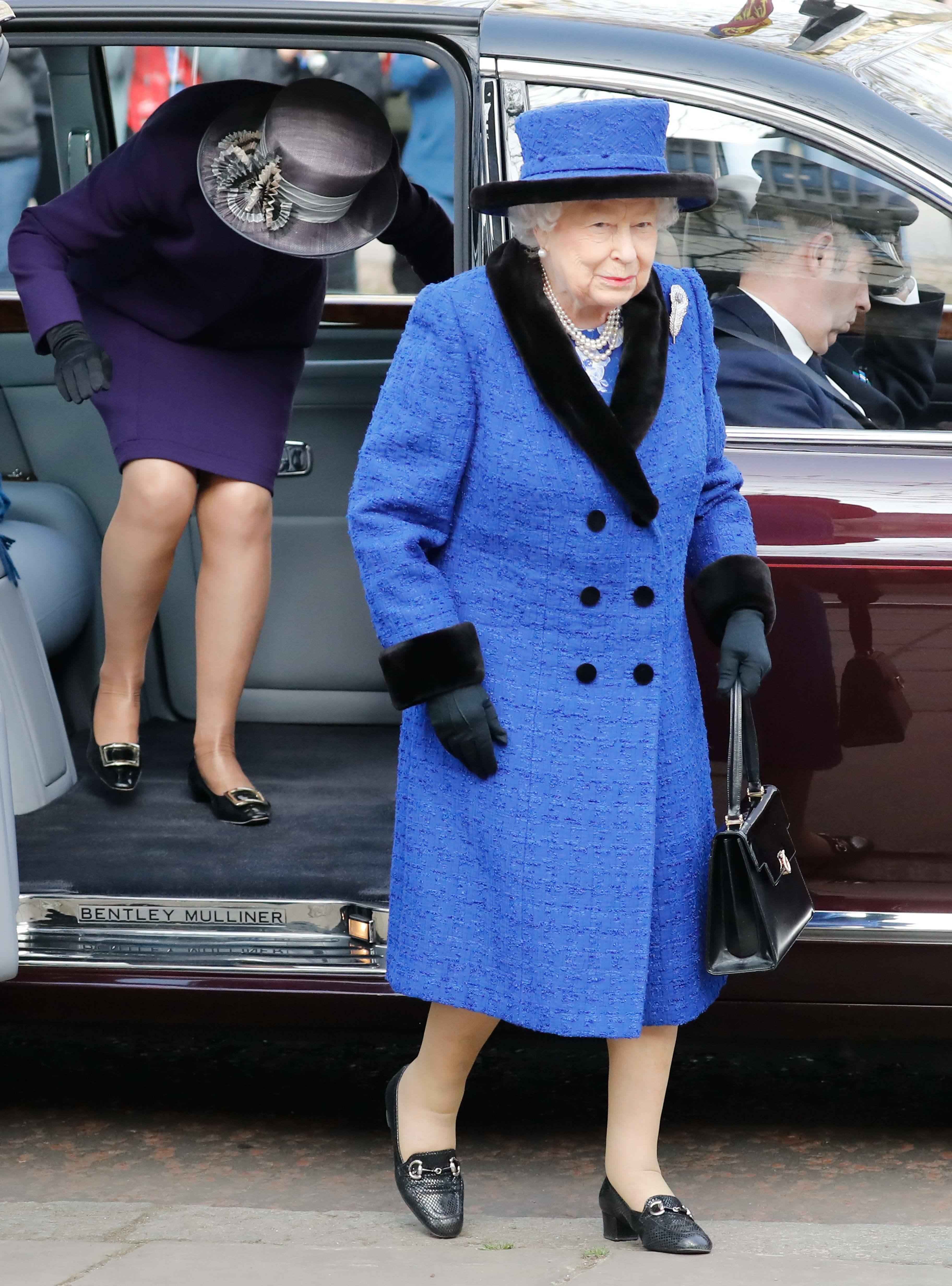 Елизавета II прибыла в Лондон на мероприятие
