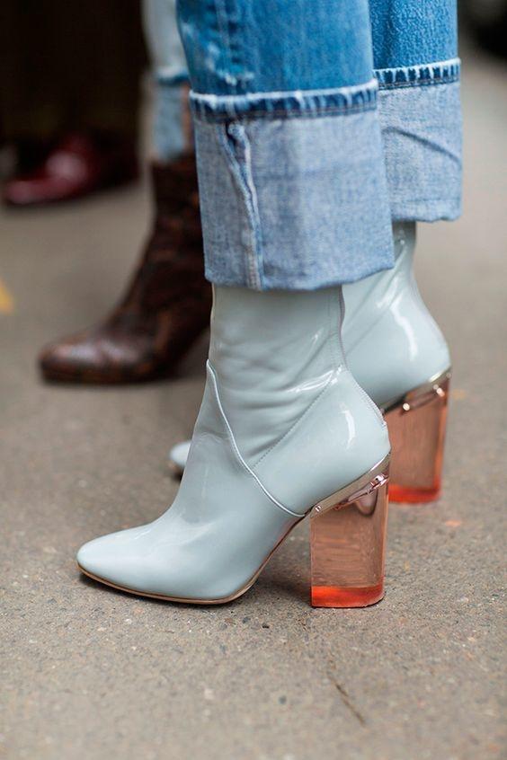 Лаковые ботинки: тренды весны