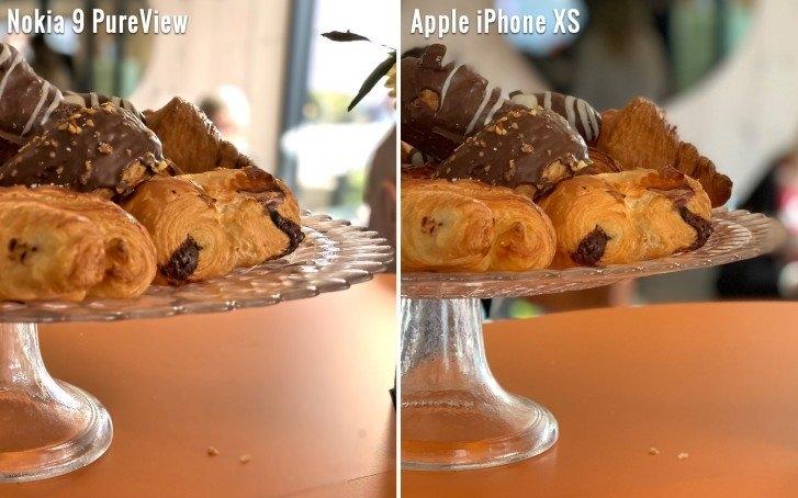 Снимок на Nokia 9 PureView и iPhone XS