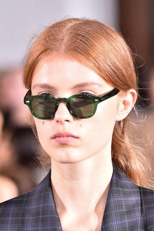 Модные солнечные очки тишейды