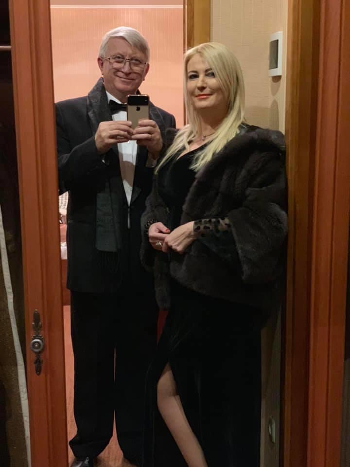 Владимир Горянский и его супруга Елена
