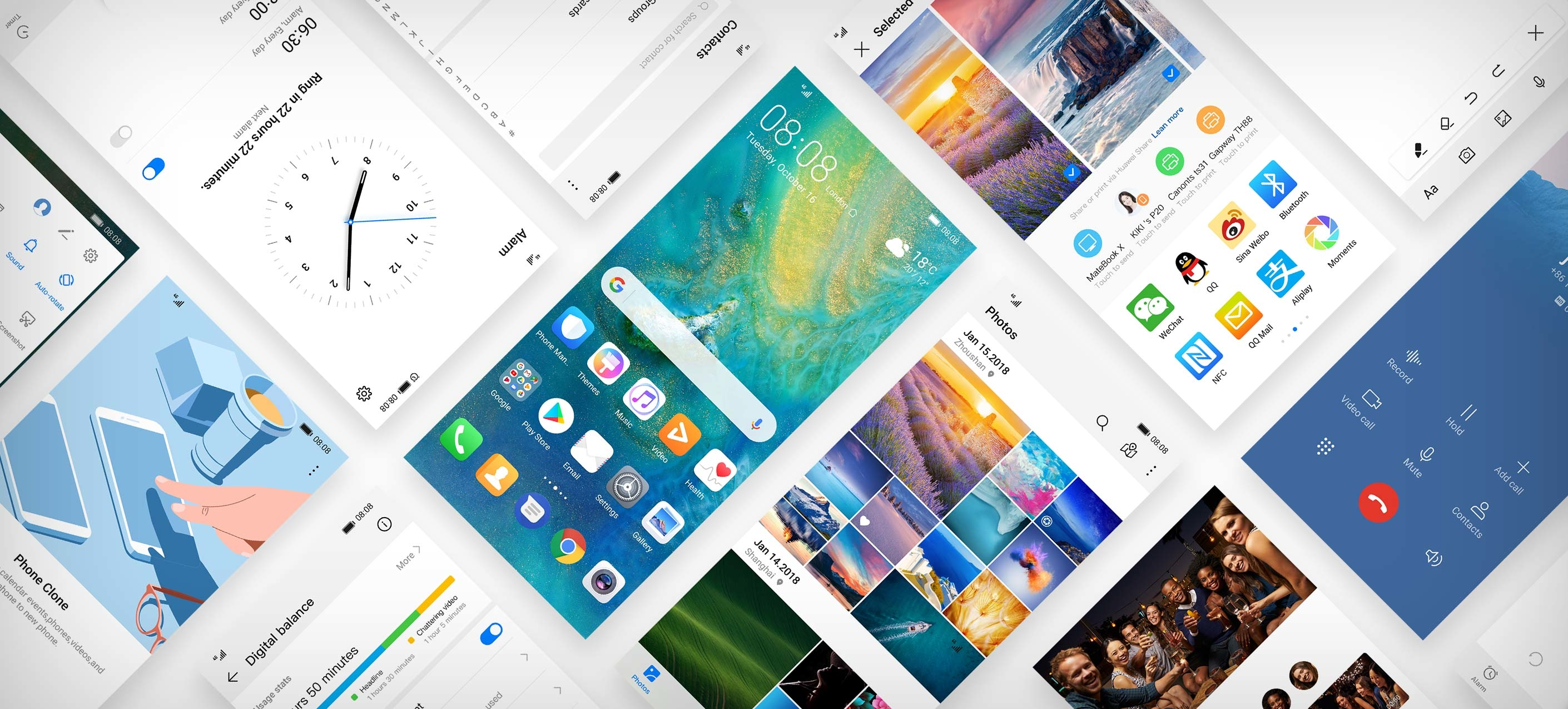 Kirin OS разрабатывается как минимум 7 лет