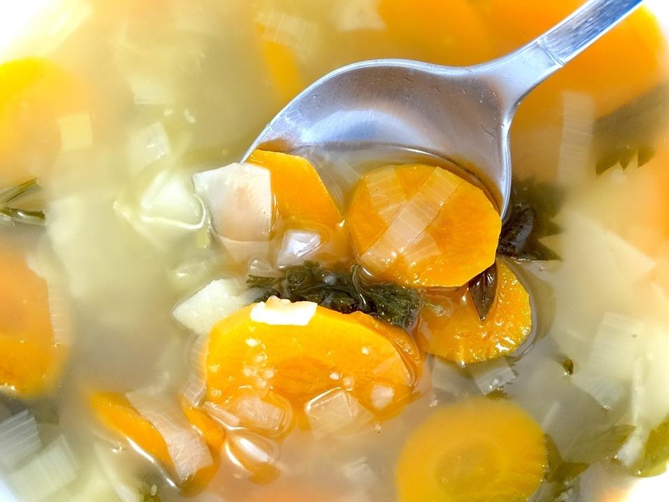 Овощной суп с картофелем