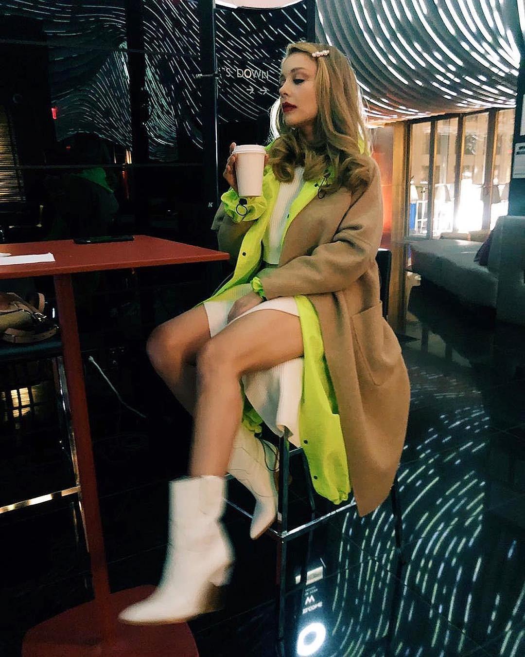 Тина Кароль на улицах Нью-Йорка  Фото: instagram.com/tina_karol