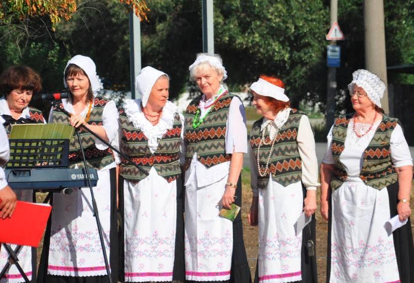 Досуг. Ансамбль немецкого общества ездит на украинские фестивали. Фото: wiedergeburt.jimdo.com
