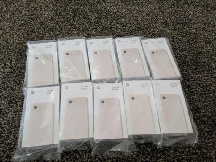 Покупателю случайно отправили десять смартфонов Google Pixel 3 на сумму 9596 долларов