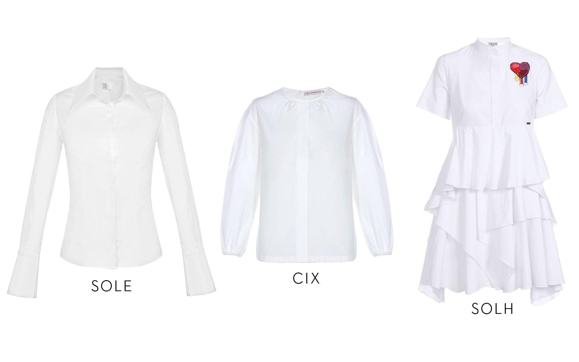 Белая рубашка – основа женского гардероба