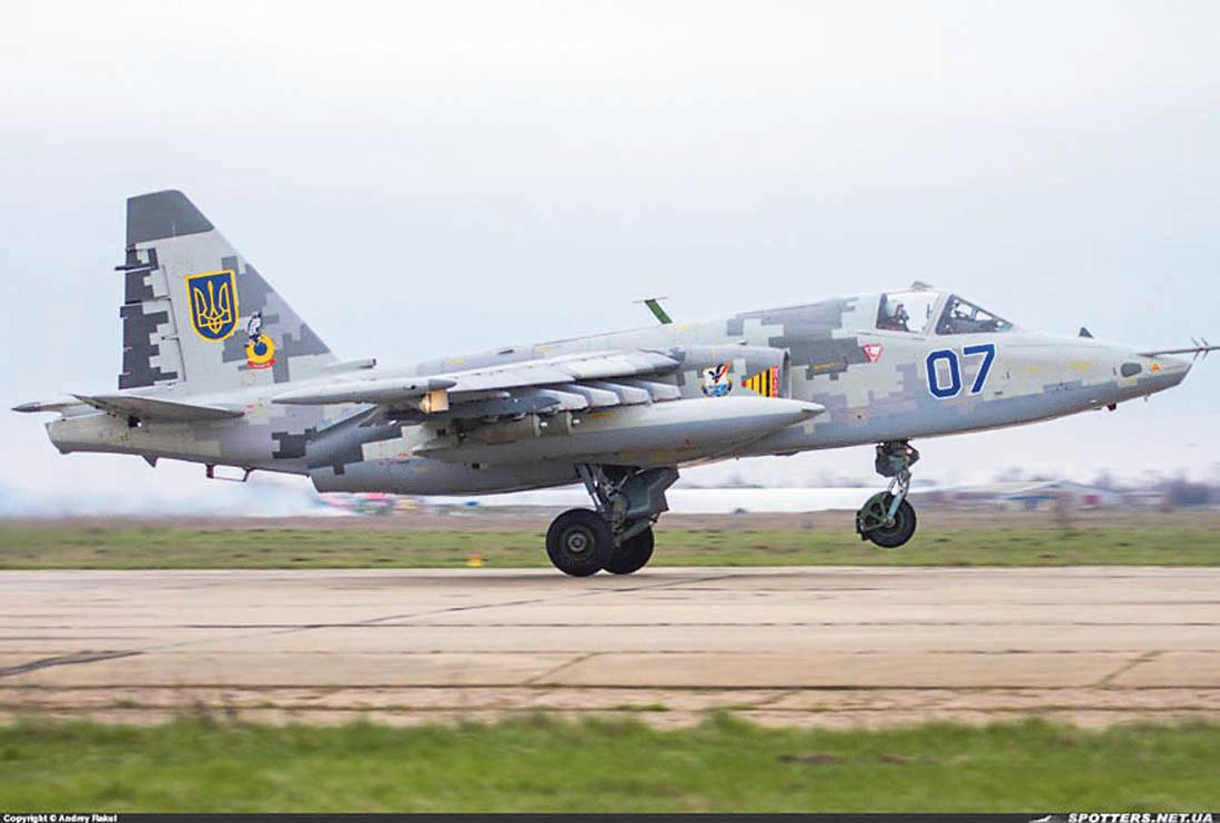 Новый Су-25. Нас могут также интересовать средства навигации и радиолокации Boeing