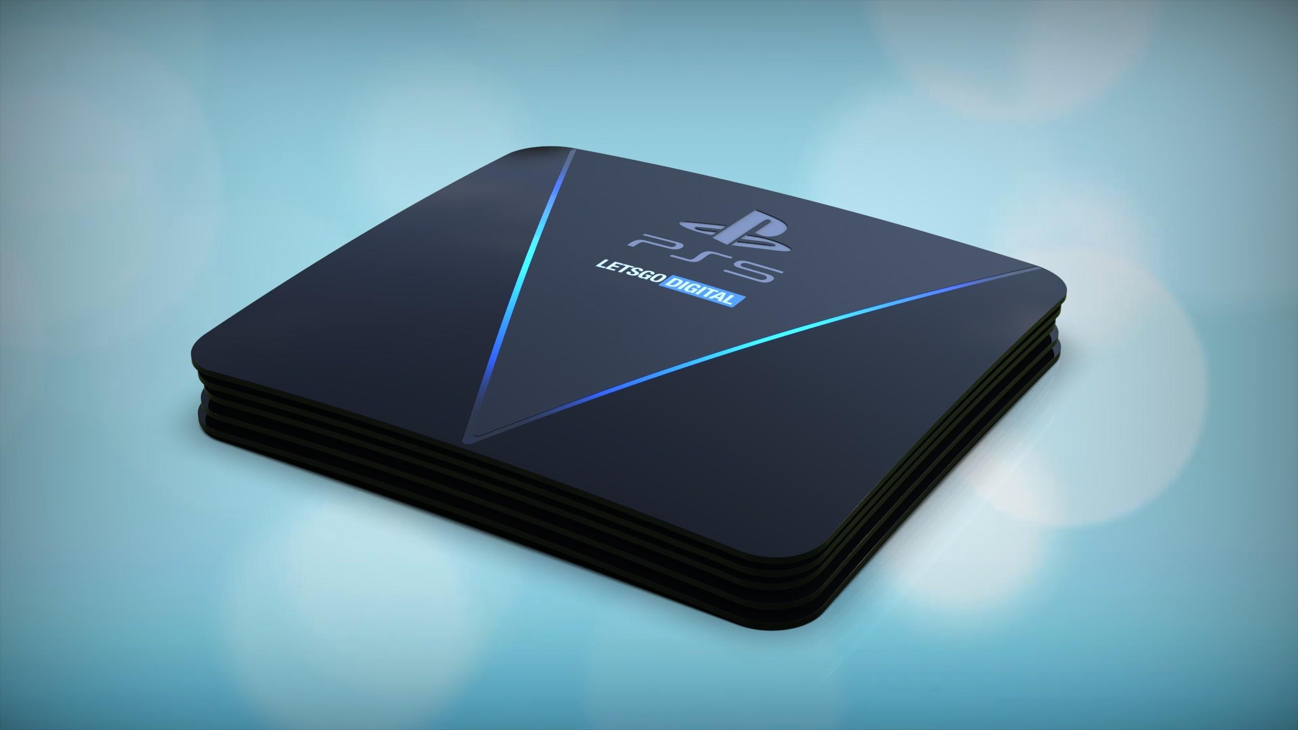 Рендер PlayStation 5
