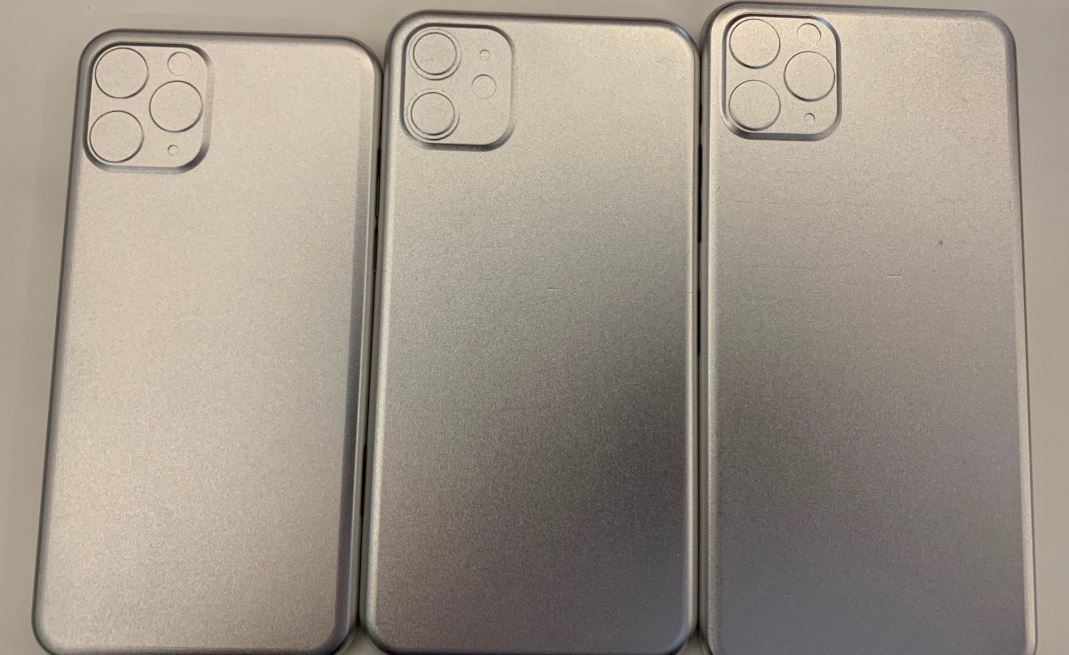 Фото макетов новых iPhone 11, iPhone 11R и iPhone 11 Max