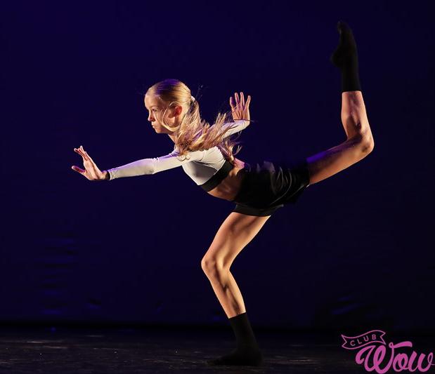 Ранняя пташка. Танцевать девушка начала с 3,5 лет в кружке при Доме культуры. Фото: Л. Лазовская