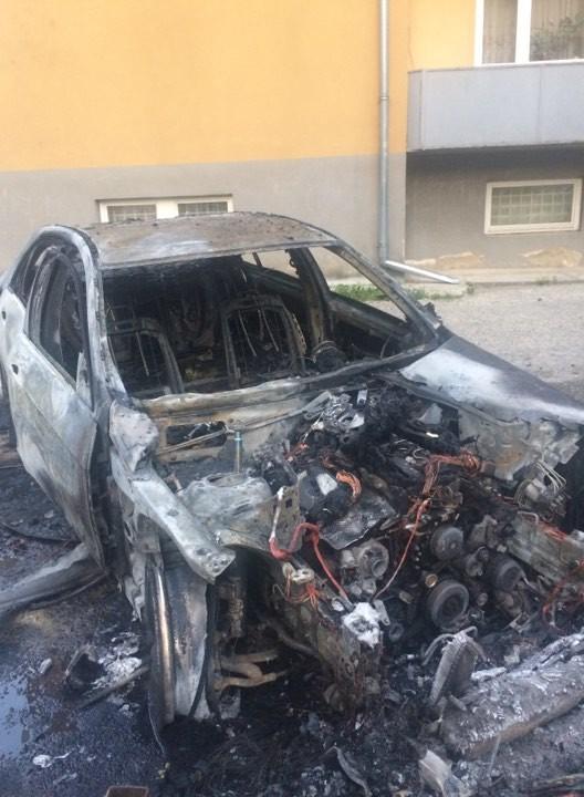 Остатки машины Иштвана Цапа
