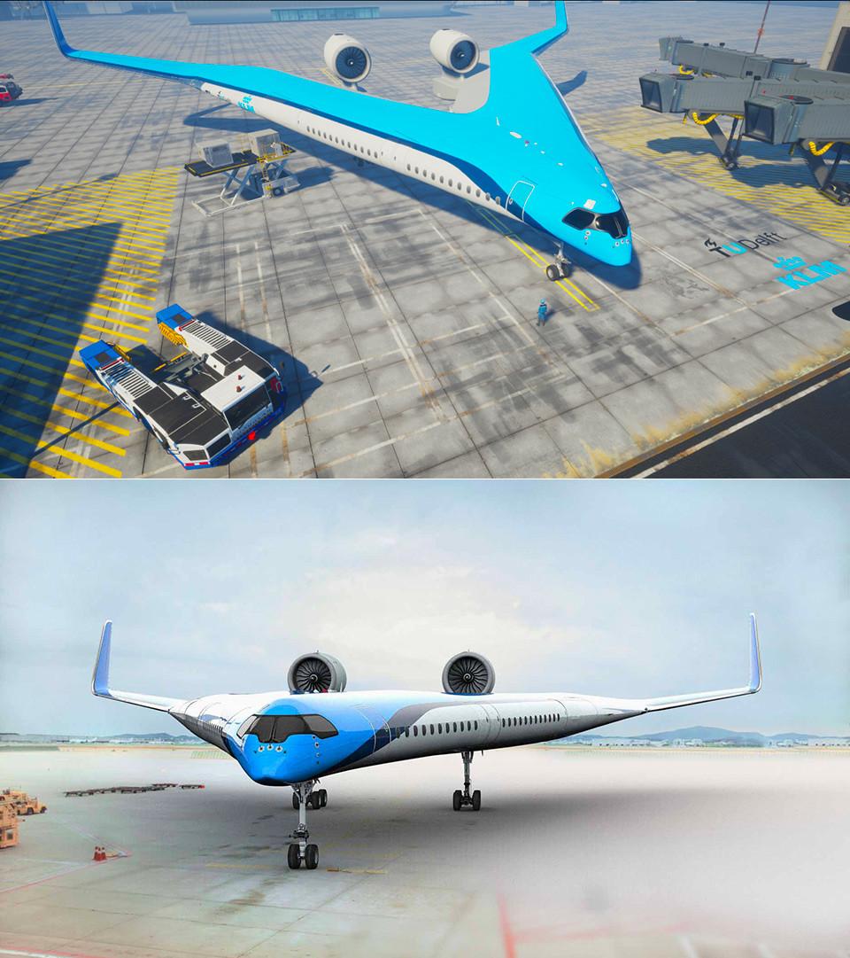 Проект Flying-V финансирует авиакомпания KLM