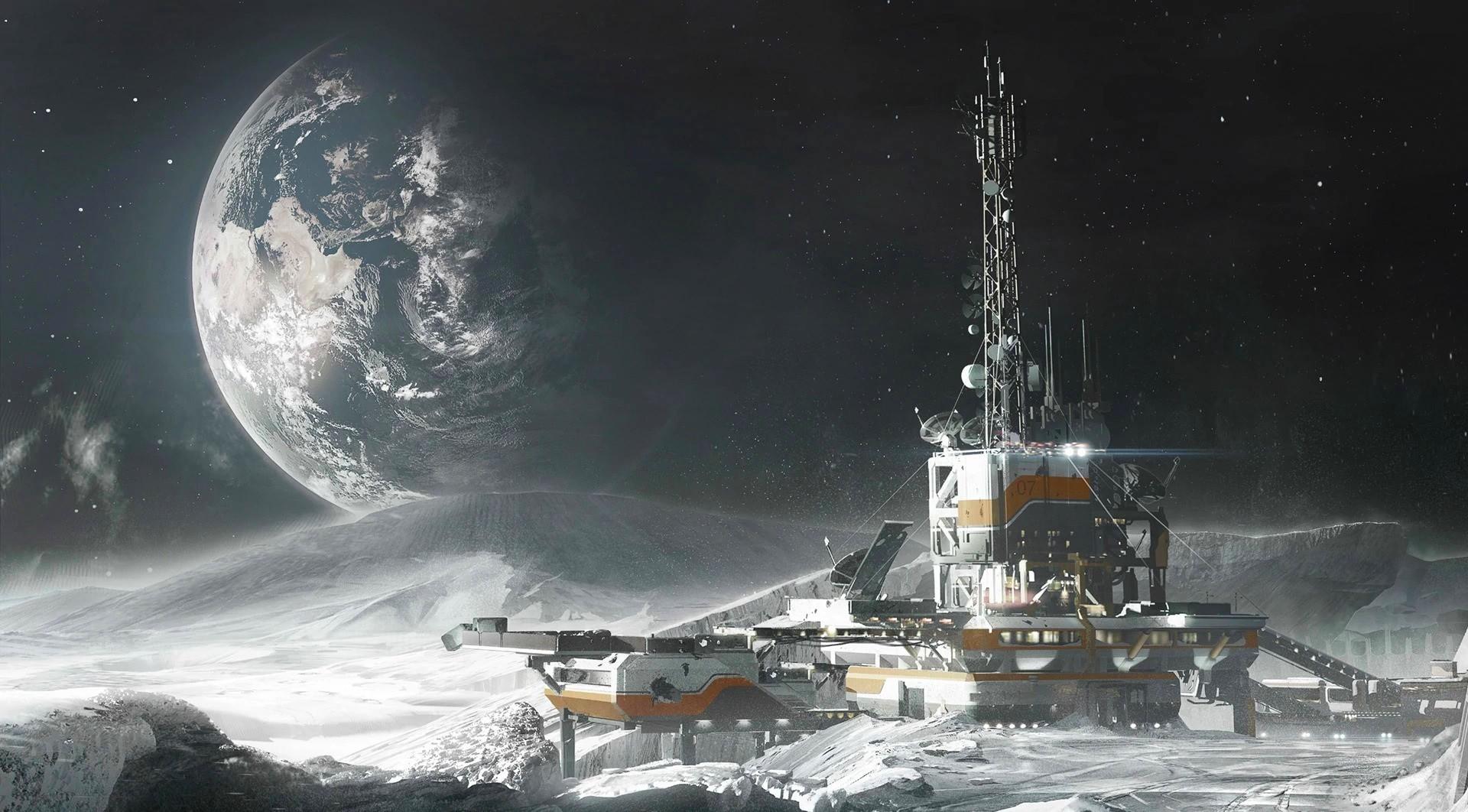 К 2024 году на Луну отправится следующая пилотируемая миссия для постройки колонии