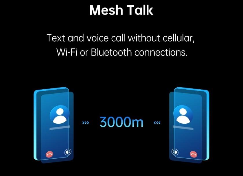 В основе технологии MeshTalk лежит принцип работы, похожий на связь по рации