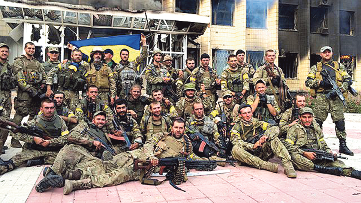 Возвращение.  Штурмовые группы ВСУ продвигались в город по параллельным улицам