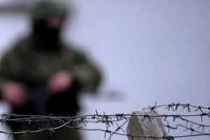 Из-за мощного обстрела на Донбассе контузило бойца