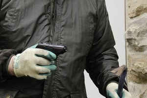 Дерзкие ограбления: в Днепре разыскивают вооруженного преступника