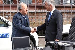Германия передала миссии ОБСЕ в Украине тепловизоры