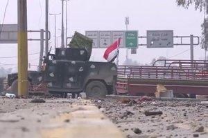 В сети появилось видео из отбитых у ИГИЛа кварталов Мосула