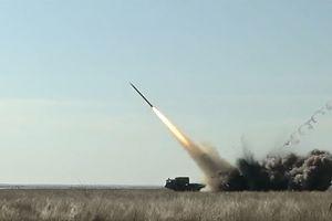 Турчинов показал видео испытания новых украинских ракет