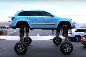 Автомобиль-трансформер, который поможет преодолевать пробки