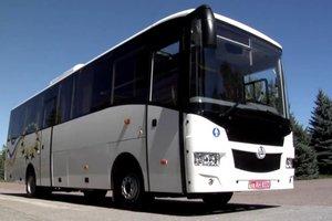 O novo ucraniano ônibus