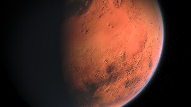 Красная планета открывает новые секреты