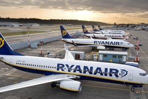Ryanair quiere iniciar de ucrania 50 авианаправлений