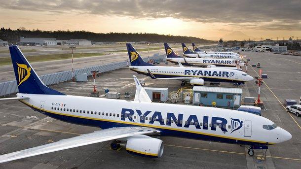 Ryanair планирует запустить еще 50 направлений рейсов из государства Украины