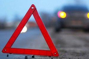 I Kiev bilen blev ramt i en fodgængerovergang to teenagere