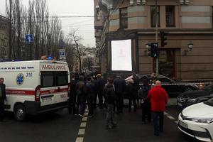 In the center of Kiev shooting occurred