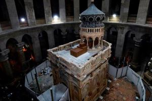 The tomb of Christ facing collapse - scientists