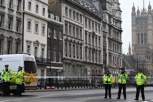 In the case of the terrorist attack in London arrested eight people