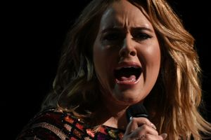 Adele dedicated the song to the victims of the terrorist attack in London