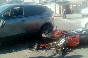 In Odessa motorcyclist was killed after colliding with a passenger car