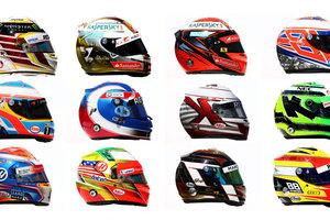 Выберите самый оригинальный шлем гонщиков Формулы-1