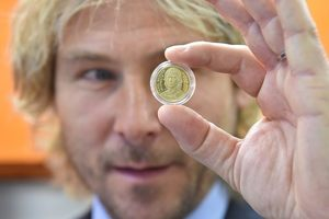 Nedved and other football legends of the Czech Republic released on a special series of coins