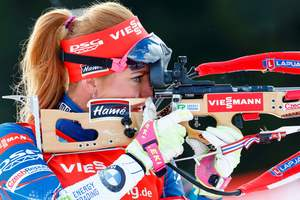 In Russia, unhappy with the courage of the Czech biathlete and urge to punish her