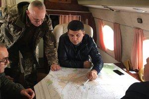 Взрывы в Балаклее: Гройсман поручил зарезервировать 3 тысячи мест для эвакуированных жителей