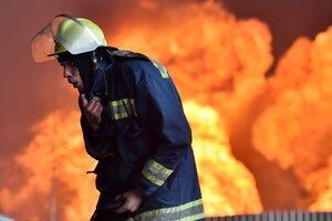 В Одессе в частном доме произошел мощный пожар