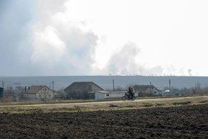 Пожар в Балаклее удалось потушить - замминистра обороны