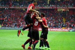 Сборная Турции обыграла Финляндию в отборе на ЧМ-2018