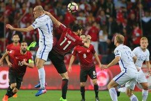 Обзор матча Турция - Финляндия - 2:0